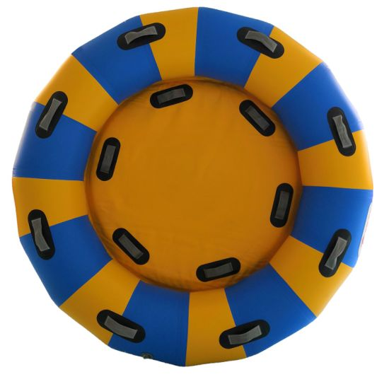 Dfaspo 72'' Water Park Inflatable Round Heavy Duty Rafts PVC Air Tube Floating River Tubes Amusement Park/ Water Slides/ Waterpark Equipment