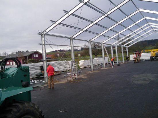 Prefabricated Galvanized Steel Structure Warehouse (SSW-405)