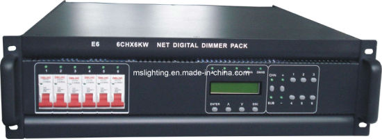Network Digital Dimmer Pack /Controller Box (MSL-E6)