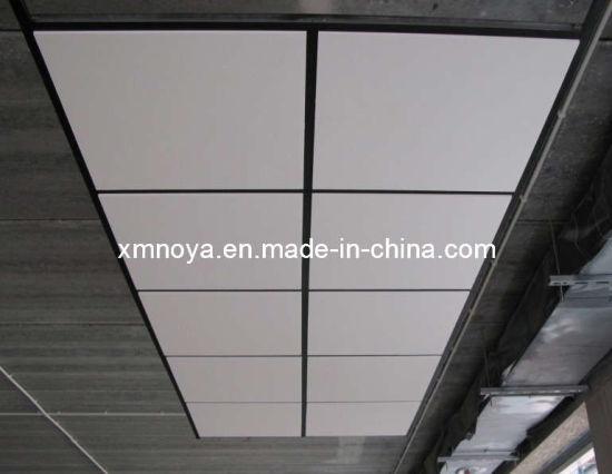 Decorative Acoustic Soud Proof Material Fiberglass Ceiling Tile