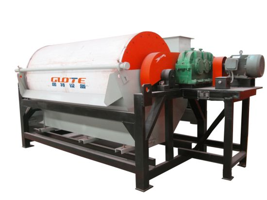 Mineral Plant Hematite Concentration Wet-Type Drum Permanent Magnetic Separator