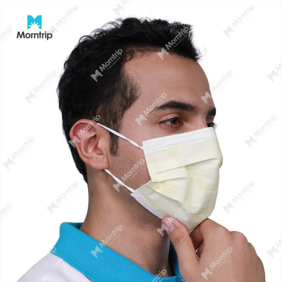 Quality 3 Ply Non Woven Sterile Face Mask Safety Respirator Dust Mask