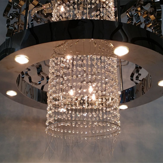 China discount classical black metal hollow hanging crystal china discount classical black metal hollow hanging crystal chandelier aloadofball Choice Image