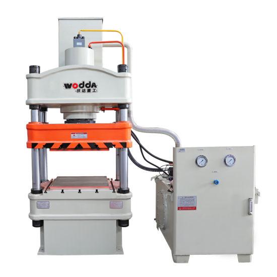 315 Ton Four Column Kitchenware Deep Drawing Hydraulic Press Machine