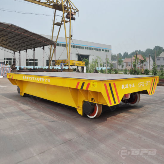 Material Handling Rail Flat Vehicle for Heavy Duty Cargo Transportation pictures & photos