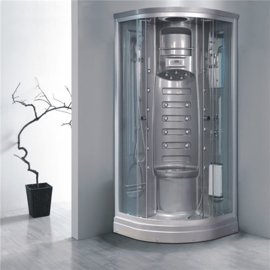 Round Sliding Glass Aluminium Framed Shower Bath Cubicle Price 950 pictures & photos