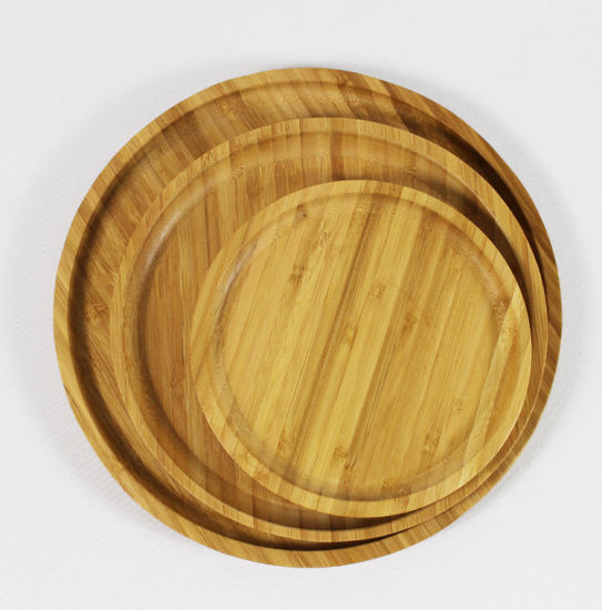 Decorative Wood Serving Tea Table Tray