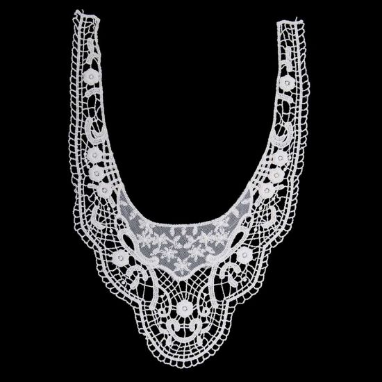 Guipure White Chemical Lace Collar pictures & photos