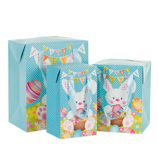 China Manufacturer Custom Bunny Easter Day Favor Paper Gift Candy