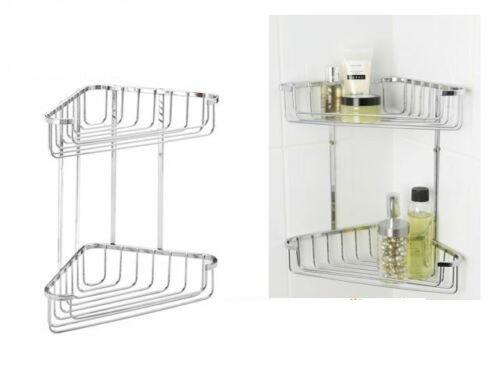 Bathroom Wire Corner Organizer Shelf Shower Caddy- Corner Shower Rack