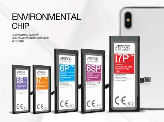 1810mAh Replacement 6g Battery Compatible with Replacement 0 Cycle -High Capacity 1year Warranty for Smart Phones