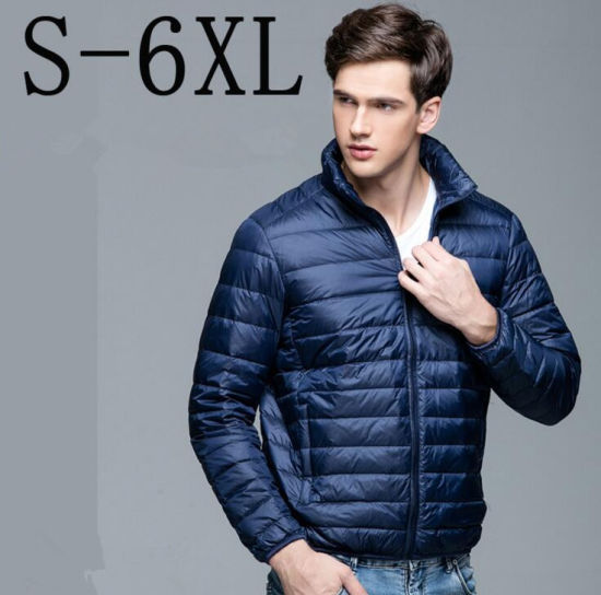 Men Winter Lightweight Packable Puffer Down Jacket pictures & photos