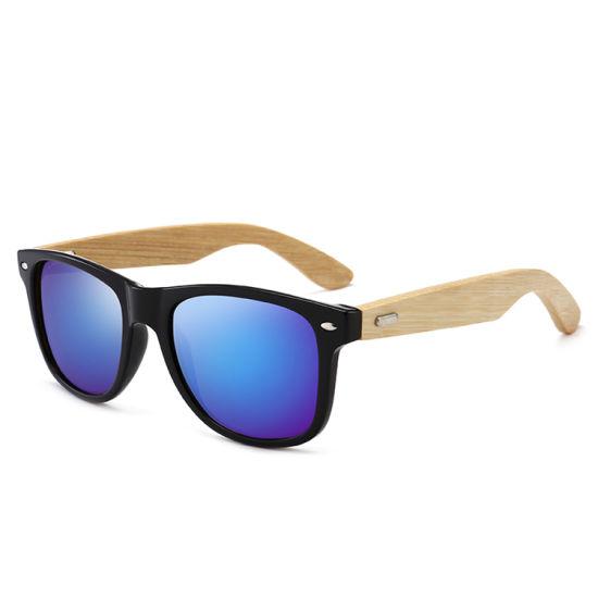 2019 DC Optical New Fashion Ce FDA No MOQ Sunglasses Men's Bamboo Retro Classic Fashion Sunglasses Rayband Bamboo Legs Factory Direct Sale Ready Stock