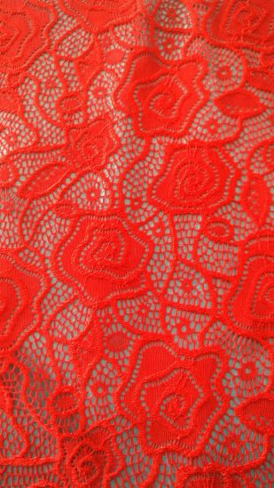 High Quality 100% Polyester Tricot Lace