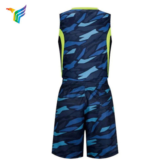 New Design Breathable Sublimation Customized Men Jersey Dress Basketball with Custom Design