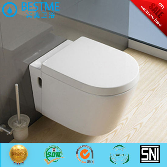 Bathroom Cheaper Price Wall-Hung Toilet with Flush Tank Bc-2380