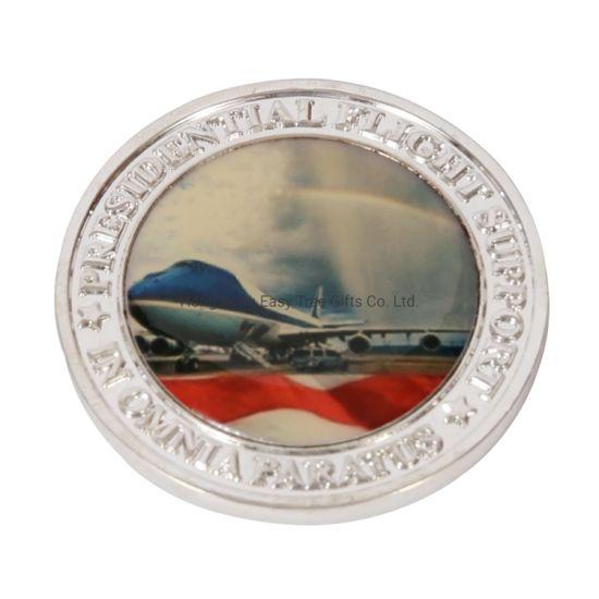 Manufacturer Custom Promotional Gift 2D/3D Zinc Alloy Souvenir Metal Challenge Coin / Award Coins with Customized Logo
