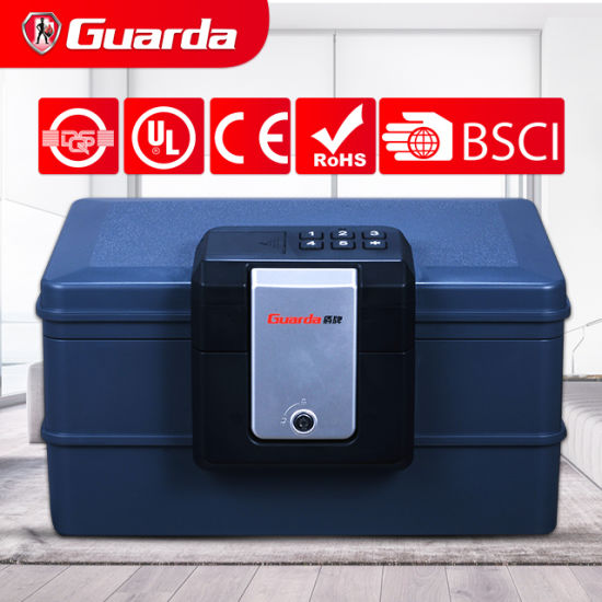 A4 Electronic Fire Water Safe Box with Carry Handle (Guarda 2030DC)