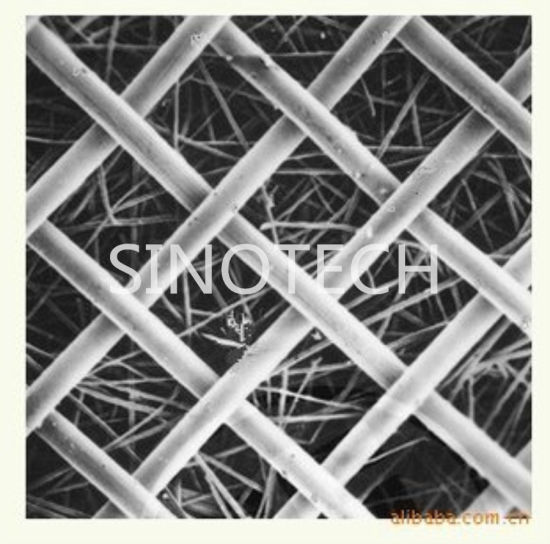 Square and Round Sintered Stainless Steel Fiber Product 6
