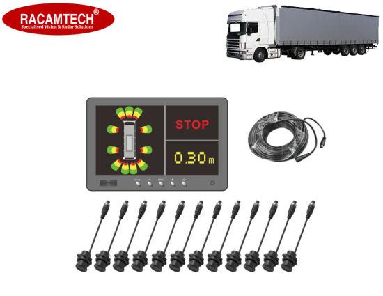 6-16 Car/Truck/Heavy Vehicle Ultrasonic Parking Sensor Radar with Monitor