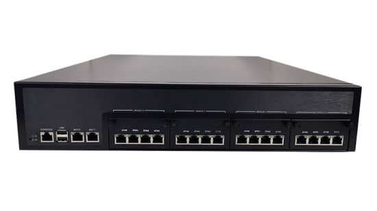2u Network Security Appliances 350W Redundant Power up to 32 Gbe for, Firewall, Hardware, Utm, VPN, Security, IPS, IDS Applications