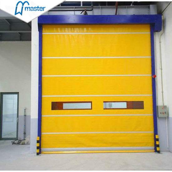 Interior Exterior High Speed Door Control Panel Motor and Accessories