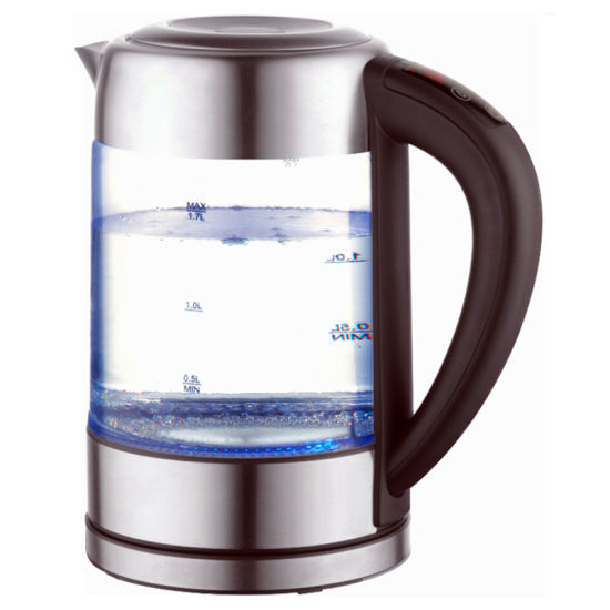 1.7 Liter 2200W Glass Electric Kettle with Keep Warm