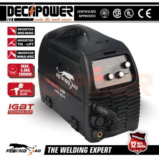 30/% Duty Cycle 180 Amp Inverter Welder MMA Portable Welding Machine