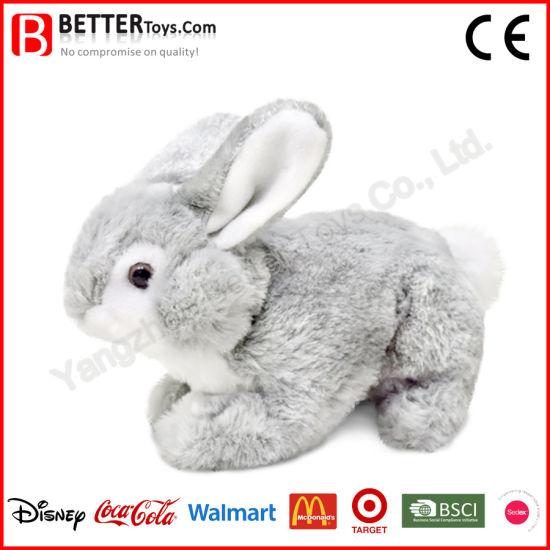 China En71 Realistic Stuffed Toy Bunny Soft Rabbit Plush Toys