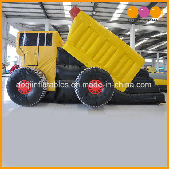 Kids Toy Lorry Inflatable Truck Slide for Slae (AQ702) pictures & photos
