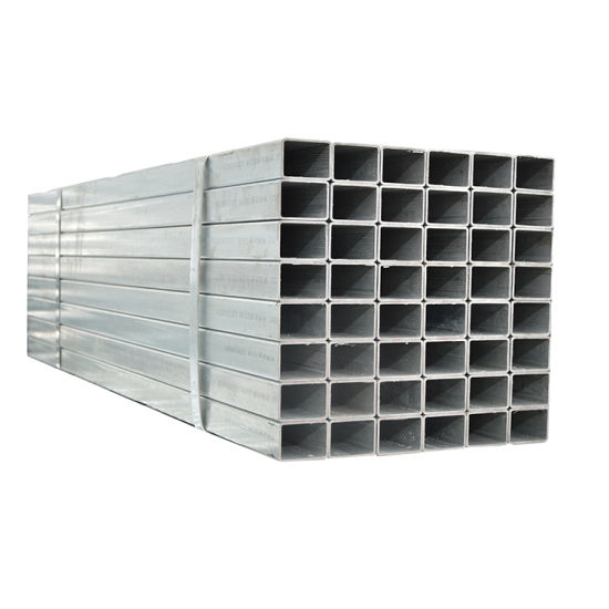 Hot Dipped Galvanized Steel Pipe/Square Tube, Gi Square Pipe 30X30
