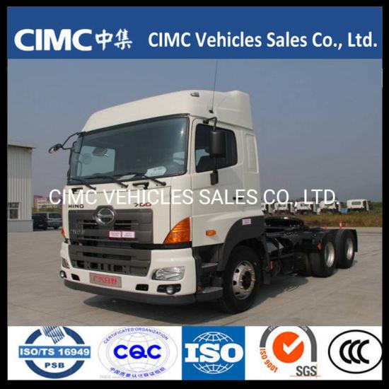Japanese Truck China Hino 700 6X4 10 Wheeler 380HP Tractor Head 25 Ton