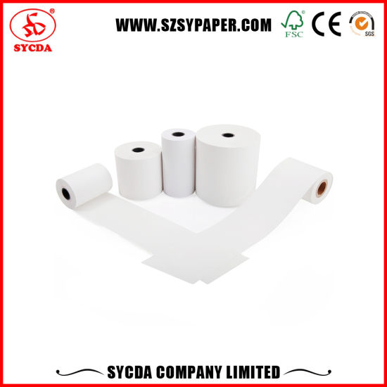 Cash Register Paper Roll 80*80 48GSM pictures & photos