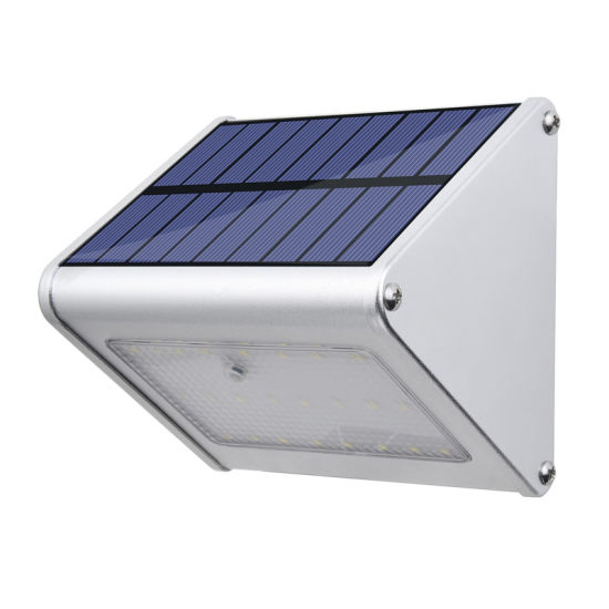 Energy Saving Mini Outdoor Home Security LED Solar Wall Light with Motion Sensor
