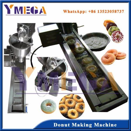 Food Grade Kitchen Equipment Automatic Doughnut Making Machine pictures & photos
