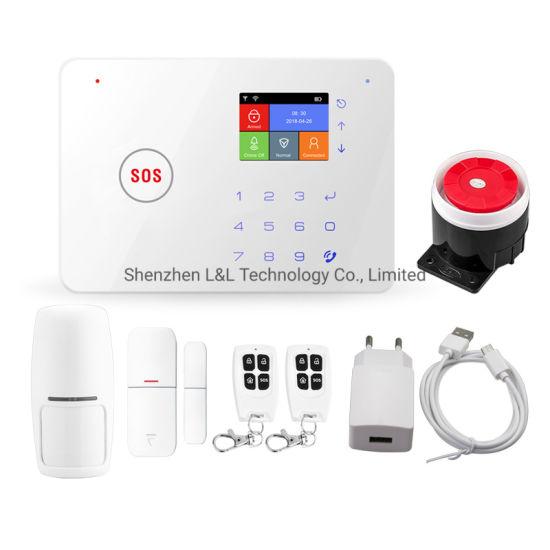 WiFi Intruder Anti-Thief Burglar House Wireless GSM Home Security Alarm System