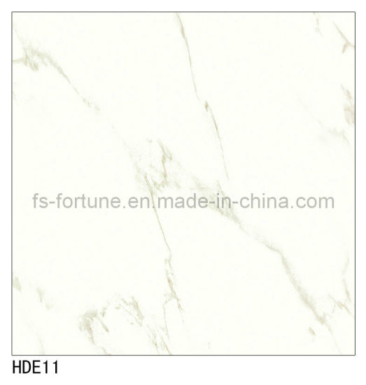 China 600X600 800X800 Building White Color Glazed Marble Porcelain ...