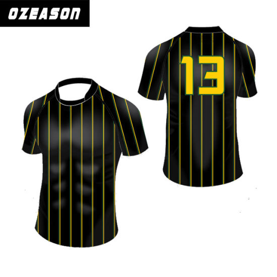 412c0d6f6d Wholesale Sublimated Cheap Striped Custom Rugby Jerseys, Rugby Uniform  pictures & photos