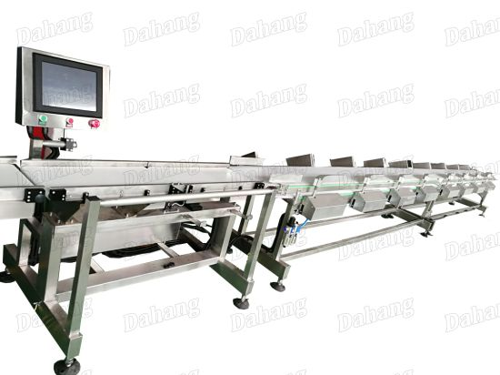 2014~2017 High Quality Poultry and Sea-Fish Weight Sorting Machine pictures & photos