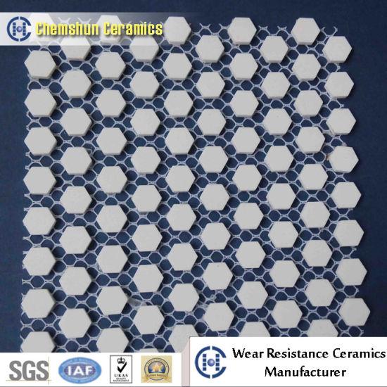Hexagonal Mosaic Tile Mesh Backing