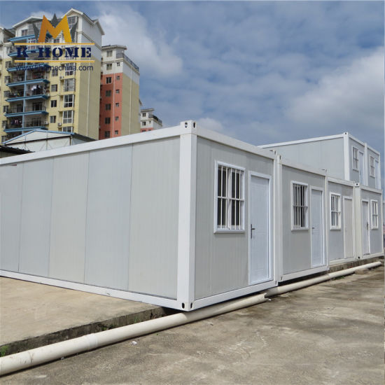 Construction Site Flat Pack Portable Office Container