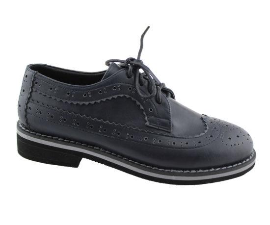 Children Boys Kid Moccasins Black Student Genuine Leather School Shoes