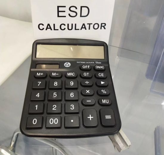 ABS Material ESD Digital Calculator for Cleanroom Use pictures & photos