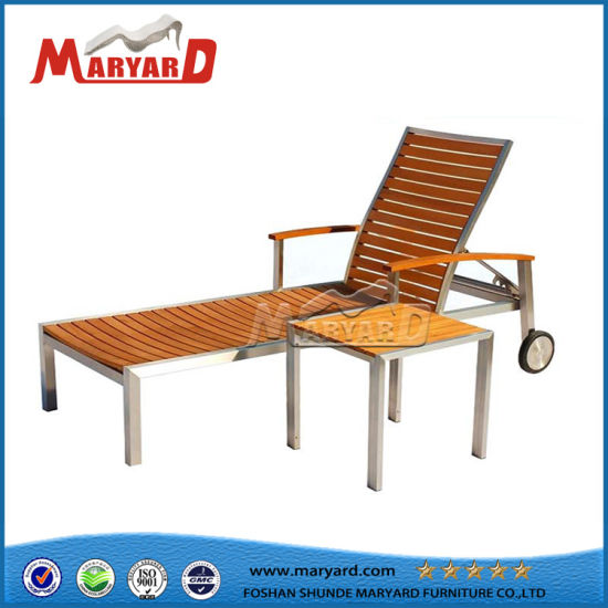 China Wood Chaise Lounge Chairs Outdoor Lounge Furniture China