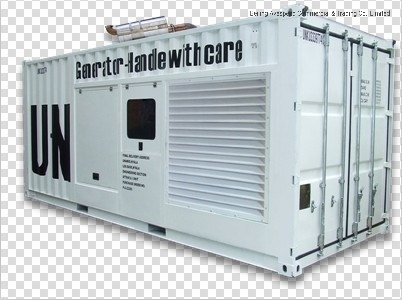 Mtu Three Phase 3300V/50Hz/1500rpm/2000kw Containerized Type Diesel Generator Set with Canopy