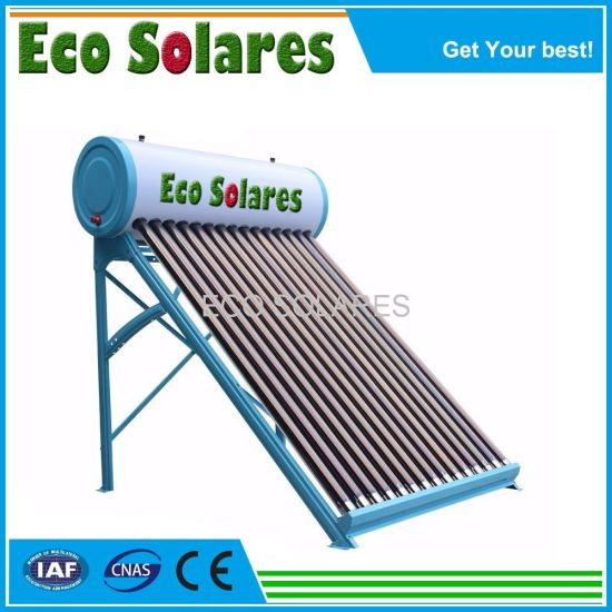 80 to 500L Non-Pressure Vacuum Tube Solar Water Heater