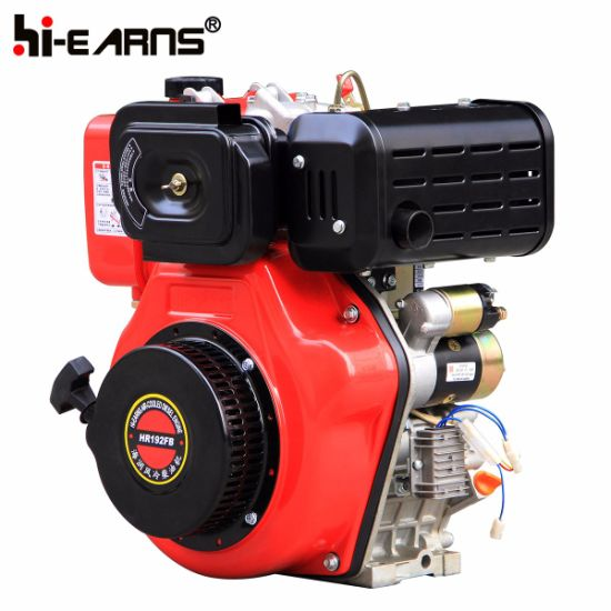 14HP Diesel Engine Electric Start with Keyway Shaft (HR192FB) pictures & photos