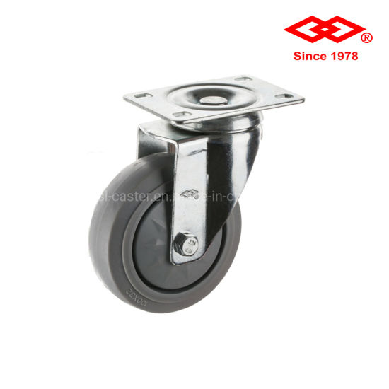 125mm Rotating Rubber Wheel Caster