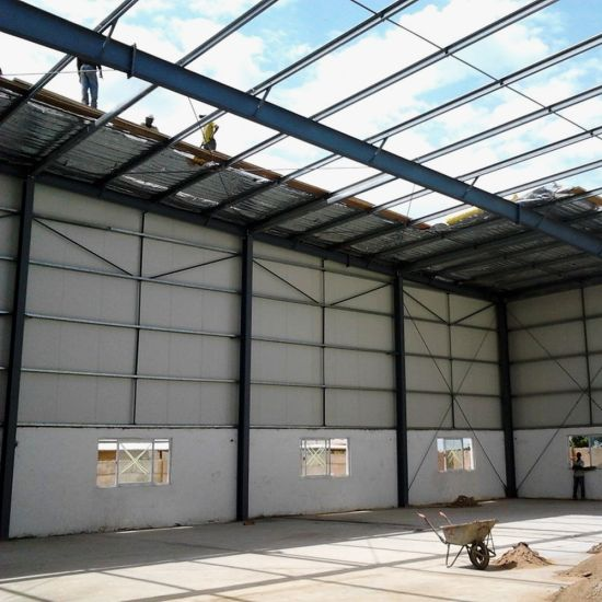 High Wall Steel Structure Grain Warehouse pictures & photos