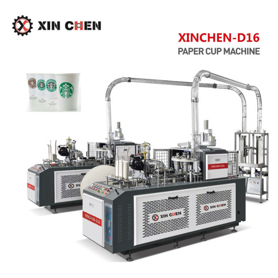 Full Automatic Paper Cup Machinery for Drink